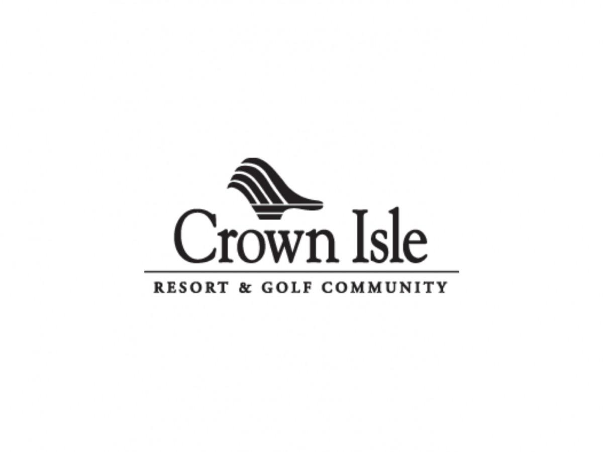 crown isle resort and golf community logo