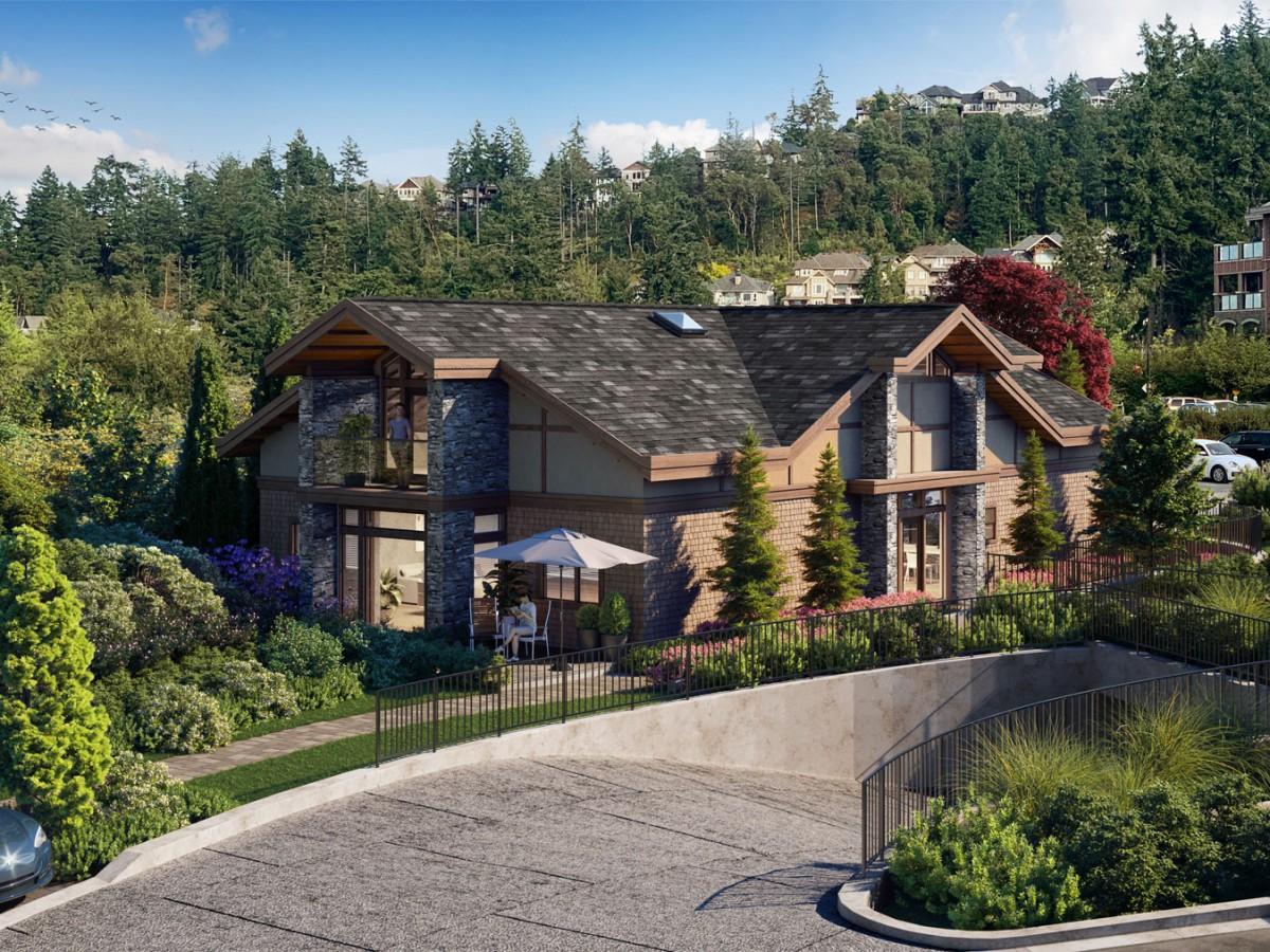 garden homes bear mountain by projex marketing