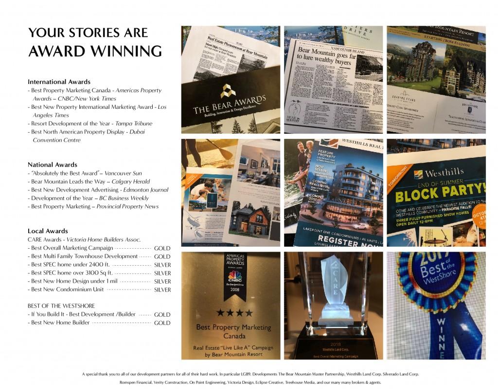marketing awards projex marketing